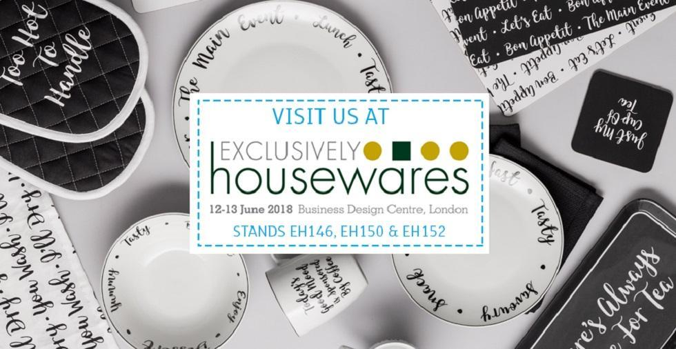 Visit us at Exclusively Housewares 2018!