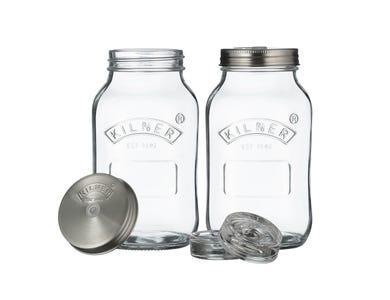Image for Set Of 2 Fermentation Jars 1 Litre