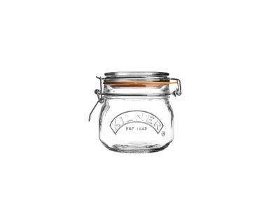Image for Clip Top Round Jar 0.5 Litre Tray Of 4