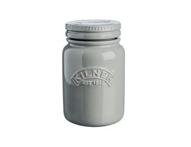 Kilner® Ceramic 0.6 Litre Push Top Jar in Morn Mist