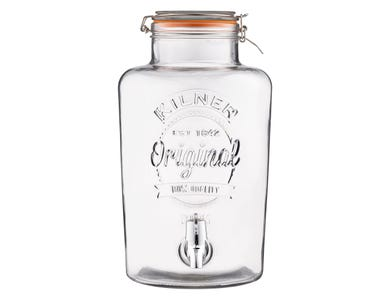Kilner® Clip Top 8 Litre Round Drinks Dispenser
