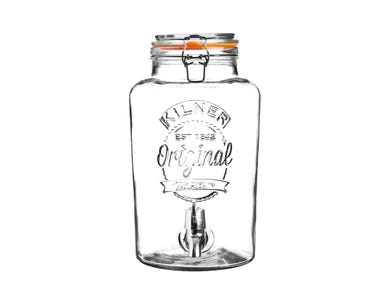 Kilner® Clip Top 5 Litre Round Drinks Dispenser
