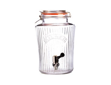 Clip Top Vintage Drinks Dispenser 5 Litre