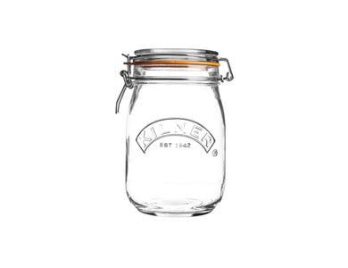 Image for Clip Top Round Jar 1 Litre