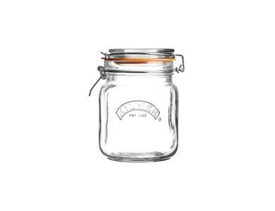 Kilner® 1 Litre Round Clip Top Jar