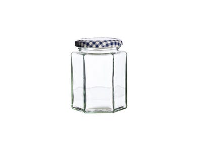 Image for Hexagonal Twist Top Jar 280ml