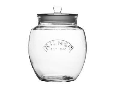Image for Universal Push Top Storage Jar 4 Litre