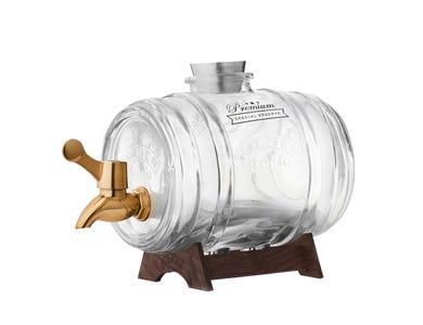 Image for Barrel Dispenser With Brass Tap 1 Litre