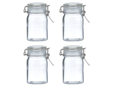 Image for Clip Top Round Jar 0.27 Litre Sleeve Of 4