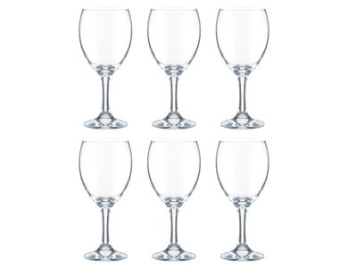 Image for Essentials Sleeve Of 6 Red Wine Glasses 30cl
