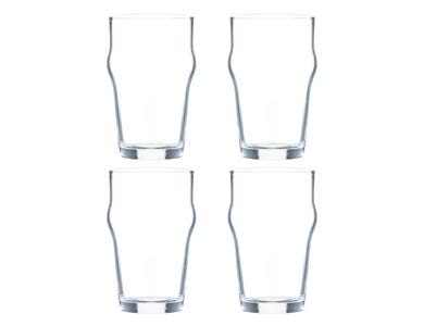 Image for Essentials Sleeve Of 4 Nonik Glasses 28cl