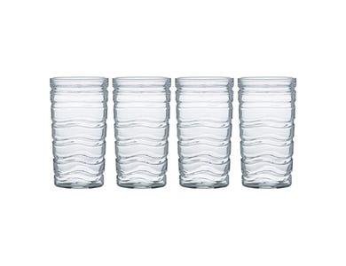 Essentials Wave 4 Hiball Glasses 45cl
