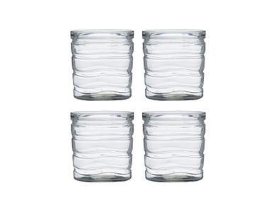 Essentials Wave 4 Mixer Glasses 41.5cl