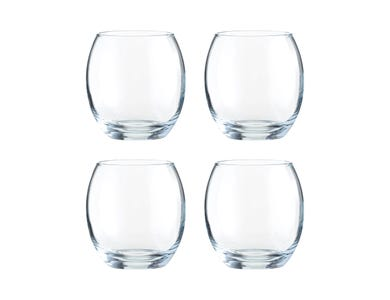Image for Mode Set Of 4 Mixer Glasses 38cl