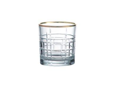 Regency Gold Set Of 2 Mixer Glasses 32cl