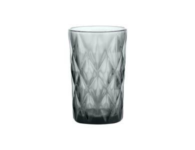 Gemstone Smoke Hiball Glass 34cl