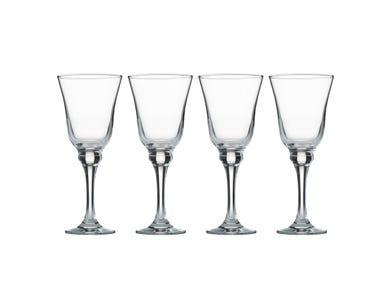 Avalon Set Of 4 White Wine Glasses 25cl