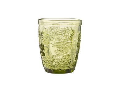 Gemstone Leaf Mixer Glass 27cl