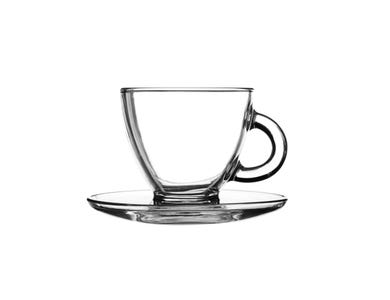 Image for Entertain Set Of 2 Cappuccino Cup&Saucer 20cl