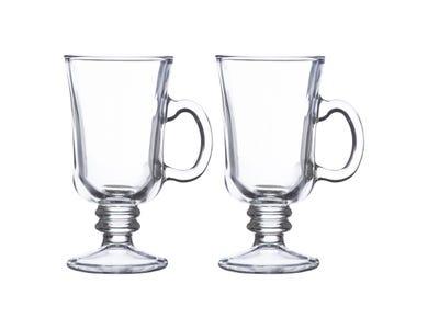 Entertain Set Of 2 Irish Coffee Glasses 23cl