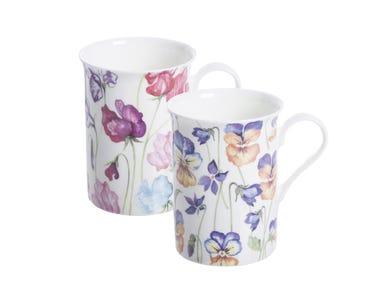 Image for Viola & Sweetpea Assorted Bone China Mug