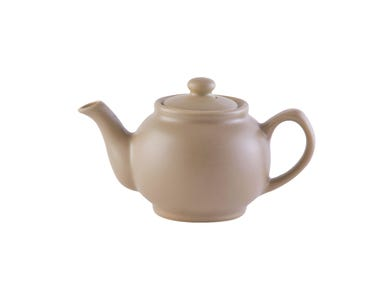 Image for Matt Taupe 2cup Teapot