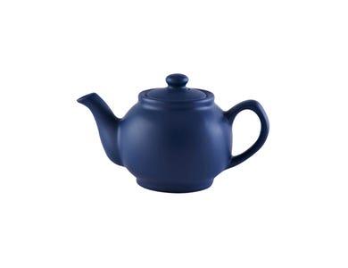 Image for Matt Navy Blue 2cup Teapot
