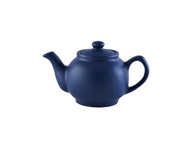 Image for Matt Navy Blue 2cup Teapot