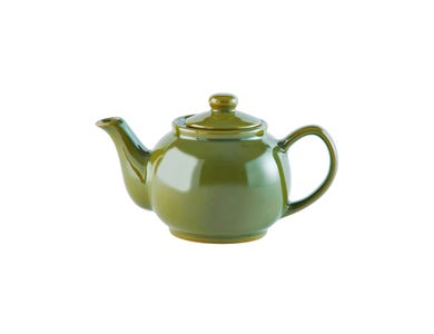Image for Olive Green 2cup Teapot
