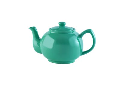 Image for Jade Green 6cup Teapot