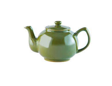 Image for Olive Green 6cup Teapot