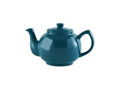 Image for Teal 6 Cup Teapot