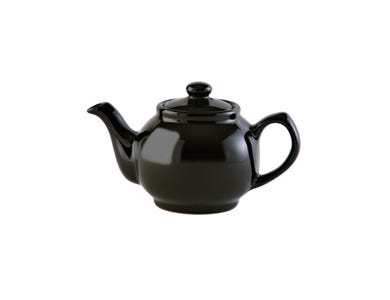 Image for Black 2cup Teapot