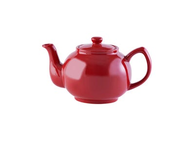Image for Red 6cup Teapot
