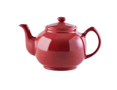 Image for Red 10 Cup Teapot