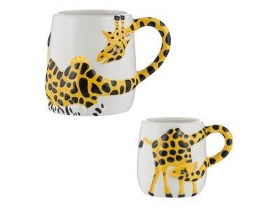 Giraffe Set Of 2 Mugs