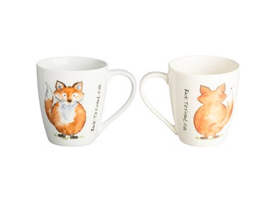 Image for Back To Front Fox Mug
