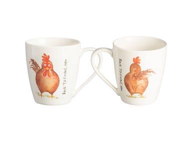 Image for Back To Front Hen Mug