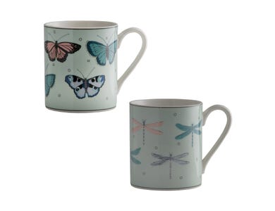 Fly Away Assorted Fine China Mug