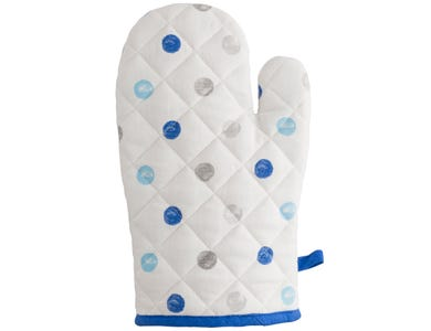 Image for Padstow Blue Single Oven Glove