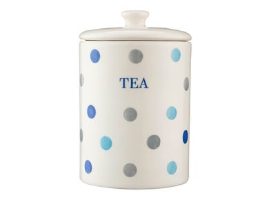 Image for Padstow Blue Tea Storage Jar