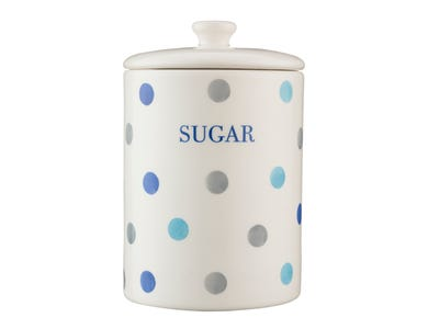 Image for Padstow Blue Sugar Storage Jar