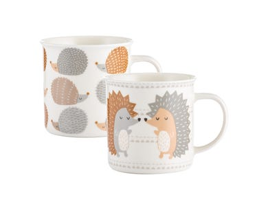 Image for Hedgehogs  Assorted Fine China Mugs