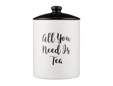 Image for Carnaby Script Tea Storage Jar
