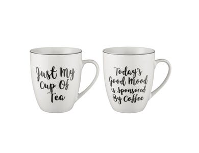 Image for Carnaby Script Mug Assorted 400ml