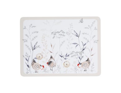 Country Hens Set Of 4 Placemats
