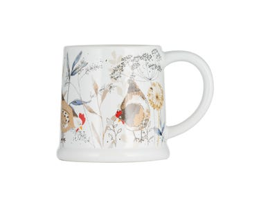 Country Hens Footed Mug 385ml