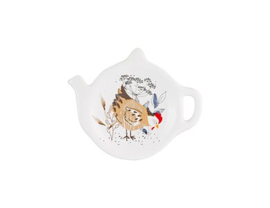 Country Hens Teabag Holder