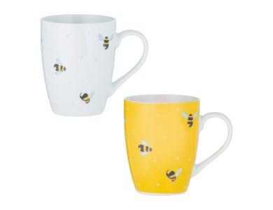 Sweet Bee Mug Assorted 380ml