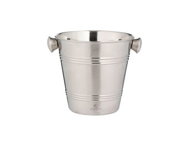 Barware 1l Silver Single Wall Ice Bucket